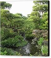 Kokoen Samurai Gardens - Himeji City Japan Canvas Print by Daniel Hagerman