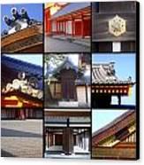 Kyoto Imperial Palace Canvas Print by Roberto Alamino