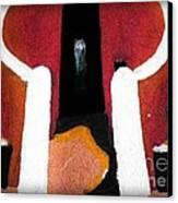 La Maison Des Esclaves - Goree Canvas Print by Fania Simon