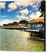 Lahaina Post Card 2 Canvas Print by Kelly Wade