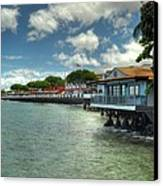 Lahaina Postcard 3 Canvas Print by Kelly Wade