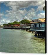 Lahaina Postcard 4 Canvas Print by Kelly Wade