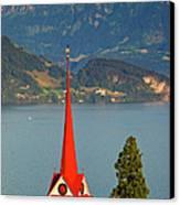 Lake Lucerne Canvas Print by Brian Jannsen