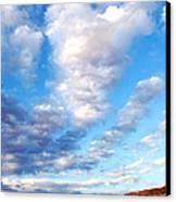 Lake Powell Clouds Canvas Print by Thomas R Fletcher