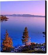 Lake Tahoe Serenity Canvas Print by Scott McGuire