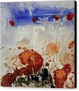 Land On Paper. Canvas Print by Jorgen Rosengaard