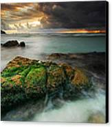 Lands End Canvas Print by John Chivers