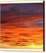 Las Cruces Sunset Canvas Print by Jack Pumphrey