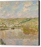 Late Afternoon - Vetheuil Canvas Print by Claude Monet