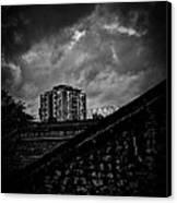 Late Night Brixton Skyline Canvas Print by Lenny Carter