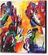 Laubar - Pokerface Canvas Print by Laurens  Barnard
