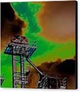 Law Tower Canvas Print by Cyryn Fyrcyd
