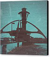 LAX Canvas Print by Naxart Studio