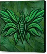Leafy Bug Canvas Print by David Kyte