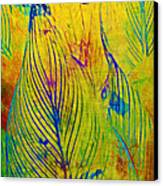 Leaves In The Jungle Canvas Print by Judi Bagwell