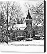 Lee Chapel February 2012 Series II Canvas Print by Kathy Jennings