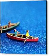 Let's Boating Together Canvas Print by Paul Ge