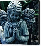 Lets Pray Canvas Print by Susanne Van Hulst