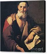 Leucippus, Ancient Greek Philosopher Canvas Print by Science Source
