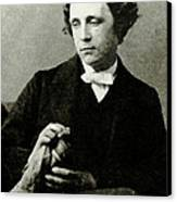 Lewis Carroll, English Author Canvas Print by Photo Researchers