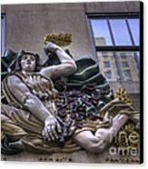 Libertie Egalite Fraternite Canvas Print by David Bearden