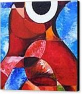Life Spirit Affirmtion Canvas Print by Harold Bascom