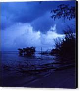 Lifting Storm Canvas Print by Bob Whitt