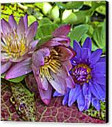 Lilies No. 29 Canvas Print by Anne Klar