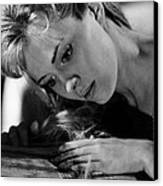 Lilith, Jean Seberg, 1964. Csu Canvas Print by Everett