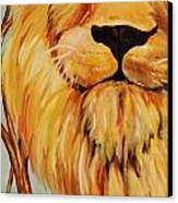 Lion Of Judah Canvas Print by Diana Kaye Obe