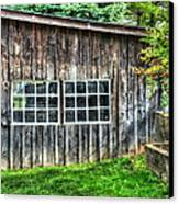 Little Brown Shed Canvas Print by Debbi Granruth