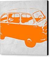 Little Bus Canvas Print by Naxart Studio