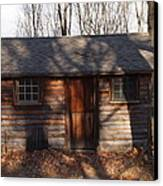 Little Cabin In The Woods Canvas Print by Robert Margetts