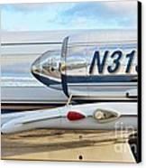 Lockheed Jet Star Engine Canvas Print by Lynda Dawson-Youngclaus