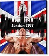 London 2012 Canvas Print by Sharon Lisa Clarke