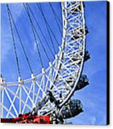 London Eye Canvas Print by Elena Elisseeva