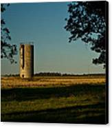 Lonly Silo 5 Canvas Print by Douglas Barnett