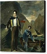 Lord Byron Canvas Print by Granger