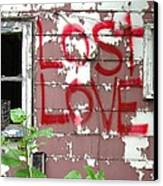 Lost Love Canvas Print by Todd Sherlock