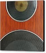Loudspeaker Canvas Print by Luigi Masella