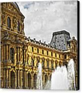 Louvre Canvas Print by Elena Elisseeva