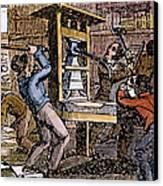 Lovejoys Printing Press Canvas Print by Granger