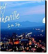Lovely Asheville Canvas Print by Ray Mapp