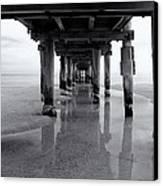Low Tide Canvas Print by Tim Nichols