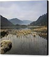 Lower Lake, Glendalough, County Canvas Print by Peter McCabe