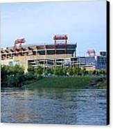 Lp Field Nashville Tennessee Canvas Print by Kristin Elmquist
