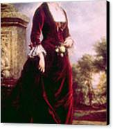 Lucy Ware Webb Hayes 1831-1889, First Canvas Print by Everett