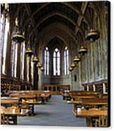 Magic Library Canvas Print by Silvie Kendall
