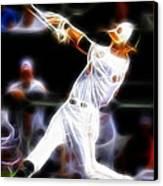 Magical Oriole Canvas Print by Paul Van Scott