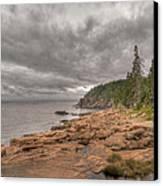 Maine Coastline. Acadia National Park Canvas Print by Juli Scalzi